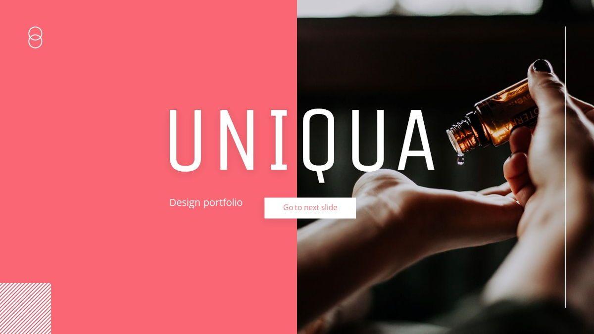 Uniqua - Cosmetics Powerpoint Template, Slide 18, 06089, Data Driven Diagrams and Charts — PoweredTemplate.com