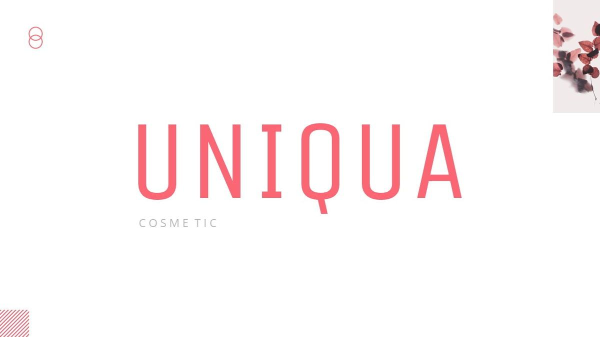 Uniqua - Cosmetics Powerpoint Template, Slide 2, 06089, Data Driven Diagrams and Charts — PoweredTemplate.com