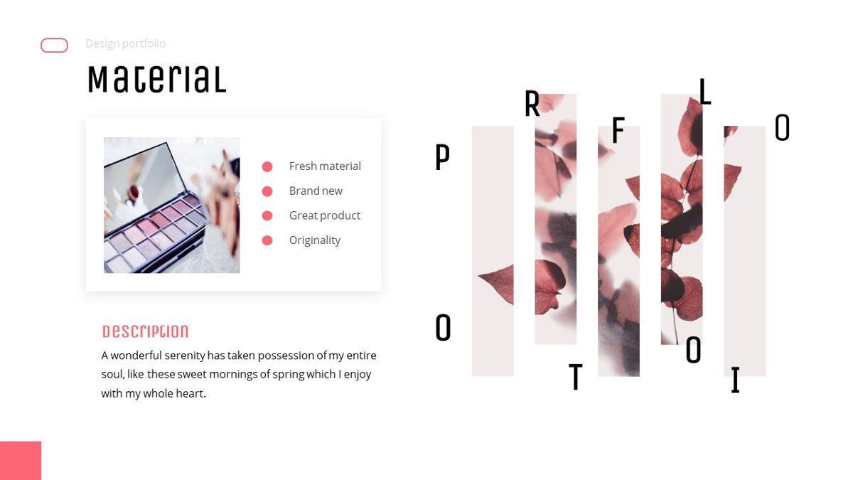 Uniqua - Cosmetics Powerpoint Template, Slide 21, 06089, Data Driven Diagrams and Charts — PoweredTemplate.com