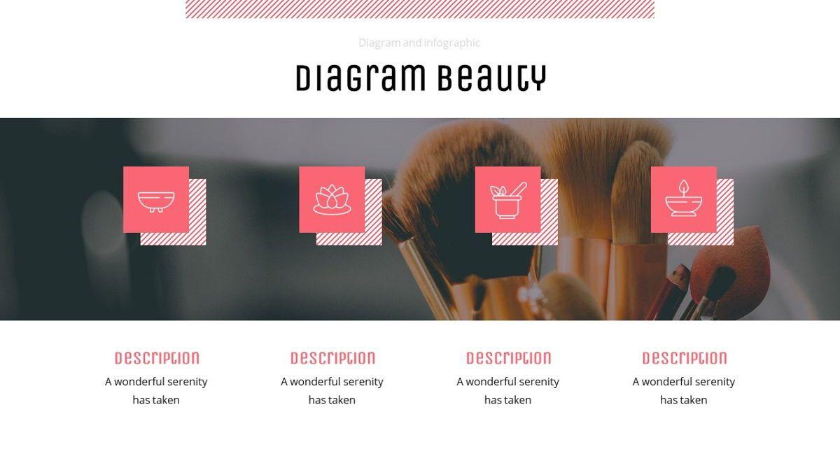 Uniqua - Cosmetics Powerpoint Template, Slide 24, 06089, Data Driven Diagrams and Charts — PoweredTemplate.com