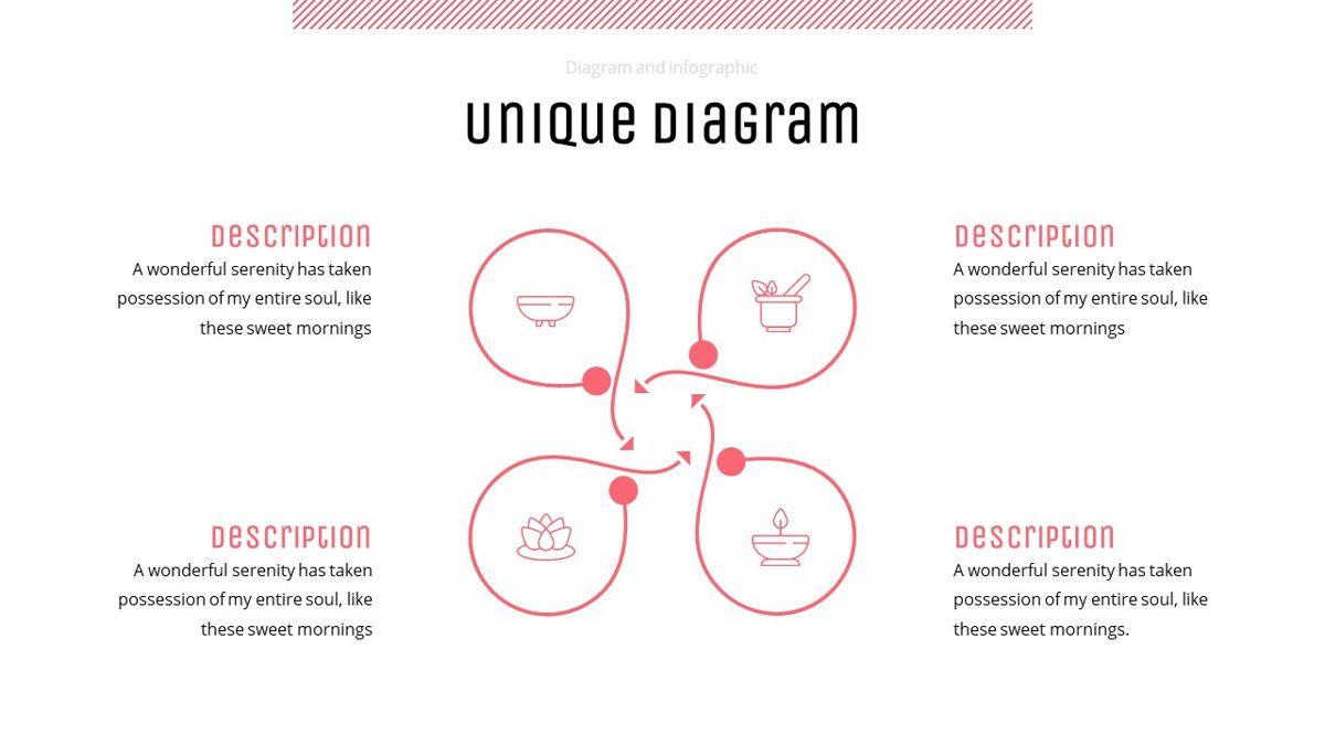Uniqua - Cosmetics Powerpoint Template, Slide 25, 06089, Data Driven Diagrams and Charts — PoweredTemplate.com