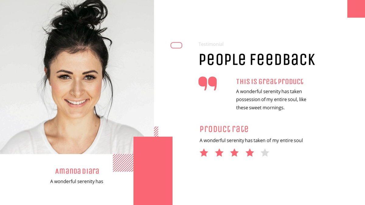Uniqua - Cosmetics Powerpoint Template, Slide 28, 06089, Data Driven Diagrams and Charts — PoweredTemplate.com