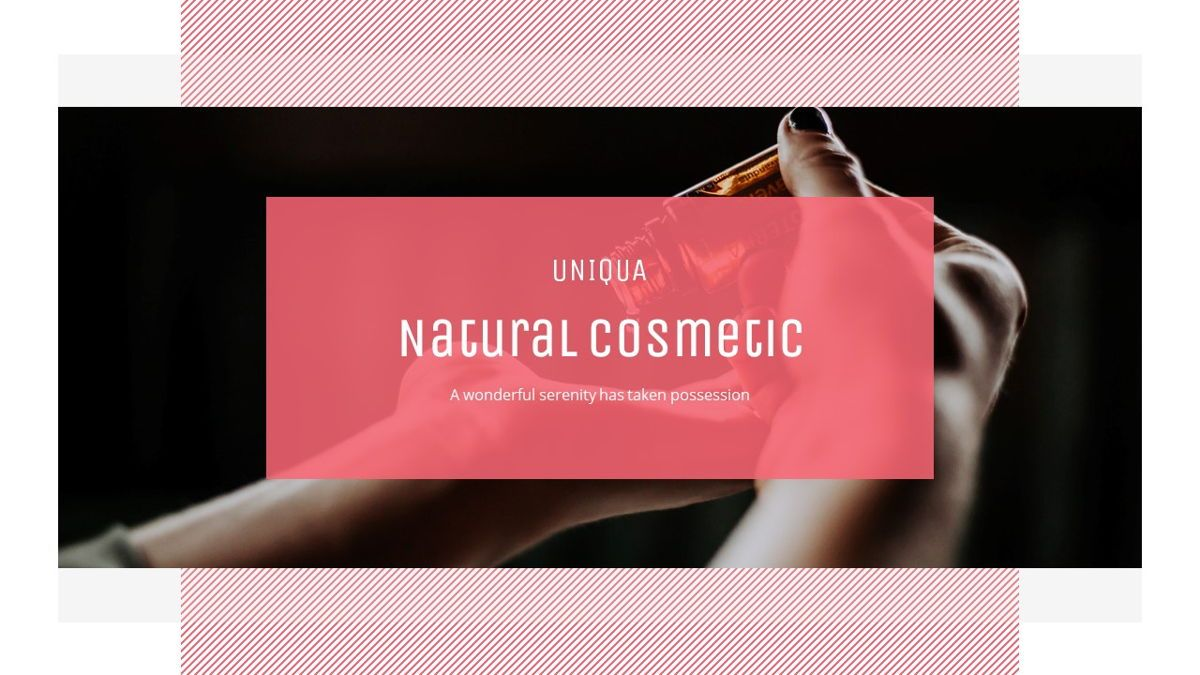 Uniqua - Cosmetics Powerpoint Template, Slide 5, 06089, Data Driven Diagrams and Charts — PoweredTemplate.com