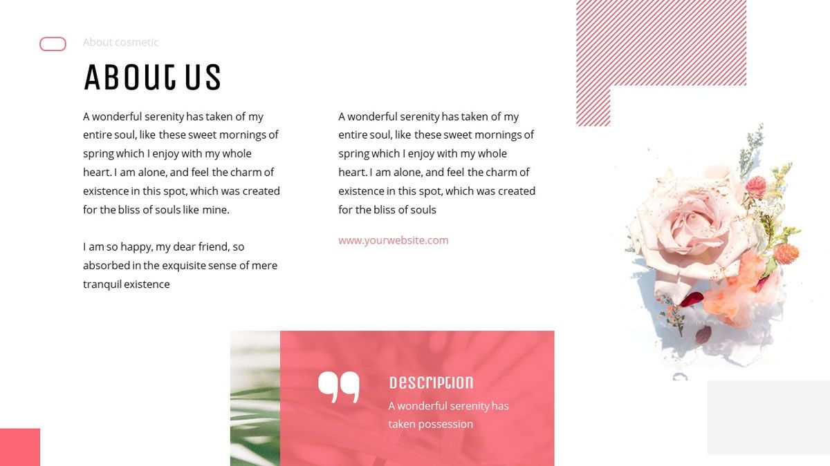 Uniqua - Cosmetics Powerpoint Template, Slide 6, 06089, Data Driven Diagrams and Charts — PoweredTemplate.com