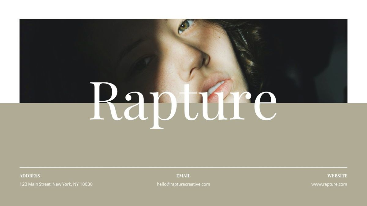 Rapture - Brandbook Powerpoint Template, Slide 2, 06091, Data Driven Diagrams and Charts — PoweredTemplate.com