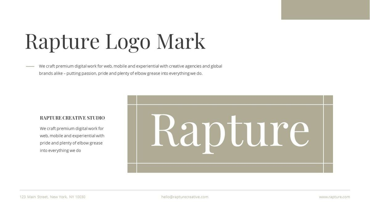 Rapture - Brandbook Powerpoint Template, Slide 23, 06091, Data Driven Diagrams and Charts — PoweredTemplate.com