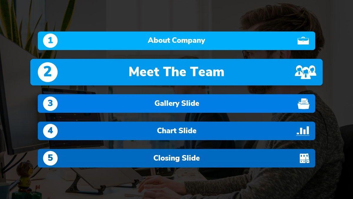 Bizpark - Business Powerpoint Template, Slide 10, 06092, Business Models — PoweredTemplate.com