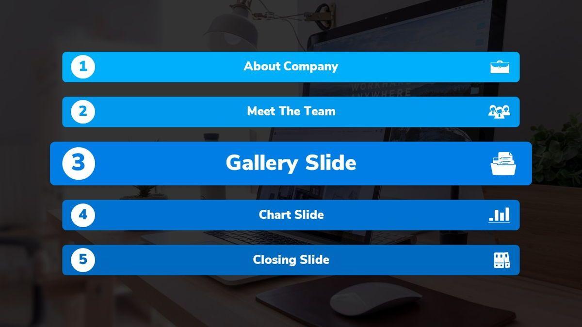 Bizpark - Business Powerpoint Template, Slide 14, 06092, Business Models — PoweredTemplate.com