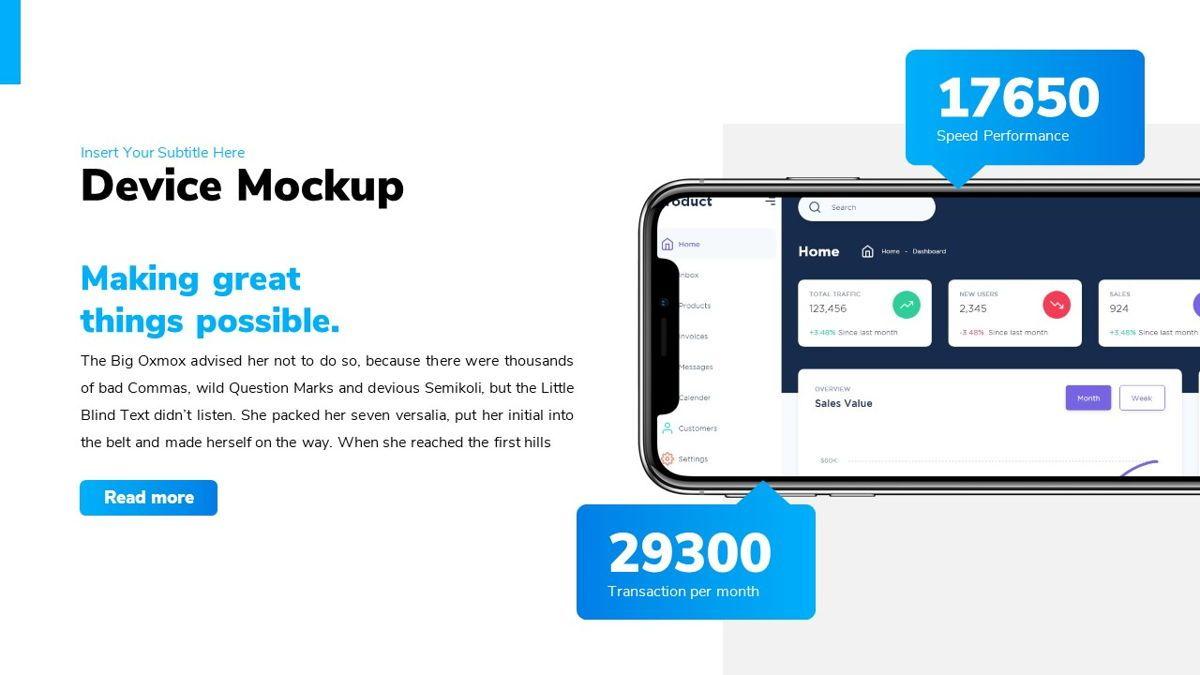 Bizpark - Business Powerpoint Template, Slide 18, 06092, Business Models — PoweredTemplate.com