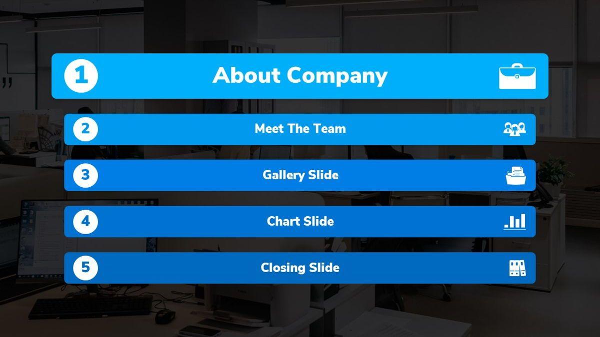 Bizpark - Business Powerpoint Template, Slide 4, 06092, Business Models — PoweredTemplate.com
