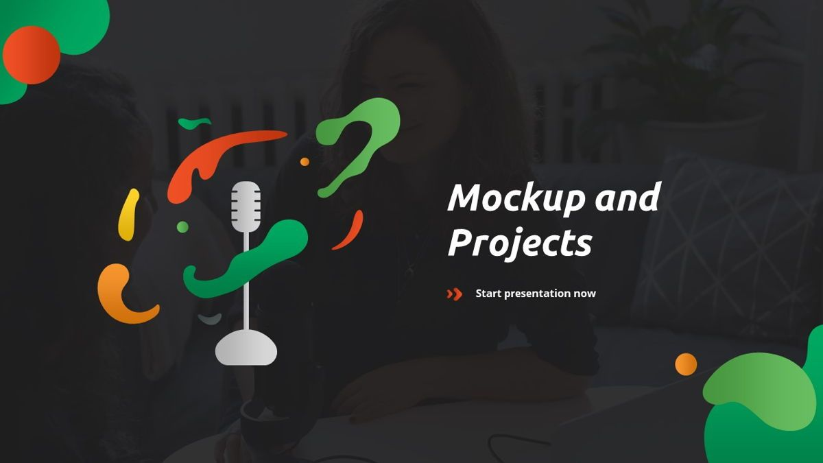Convo - Podcast Powerpoint Template, Slide 17, 06094, Data Driven Diagrams and Charts — PoweredTemplate.com