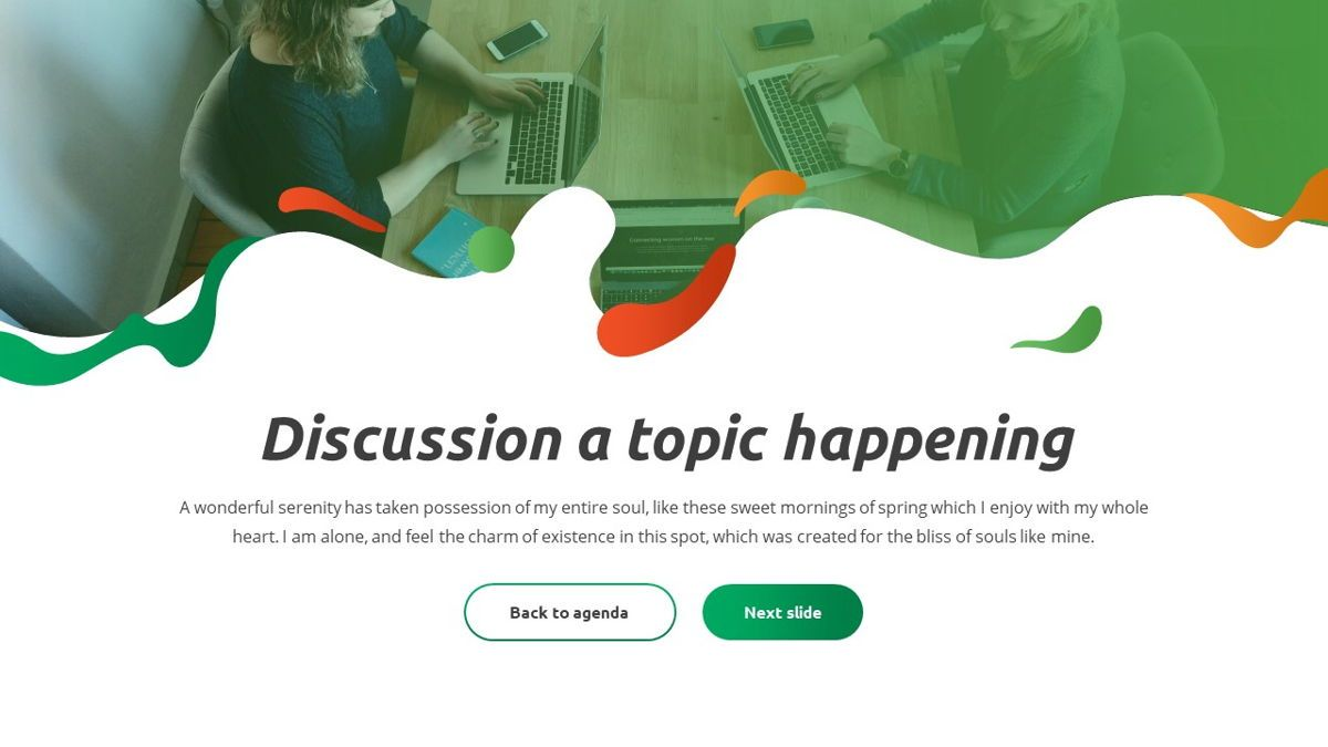 Convo - Podcast Powerpoint Template, Slide 5, 06094, Data Driven Diagrams and Charts — PoweredTemplate.com