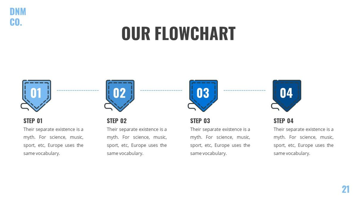 Denim - Fashion Powerpoint Template, Slide 22, 06095, Data Driven Diagrams and Charts — PoweredTemplate.com