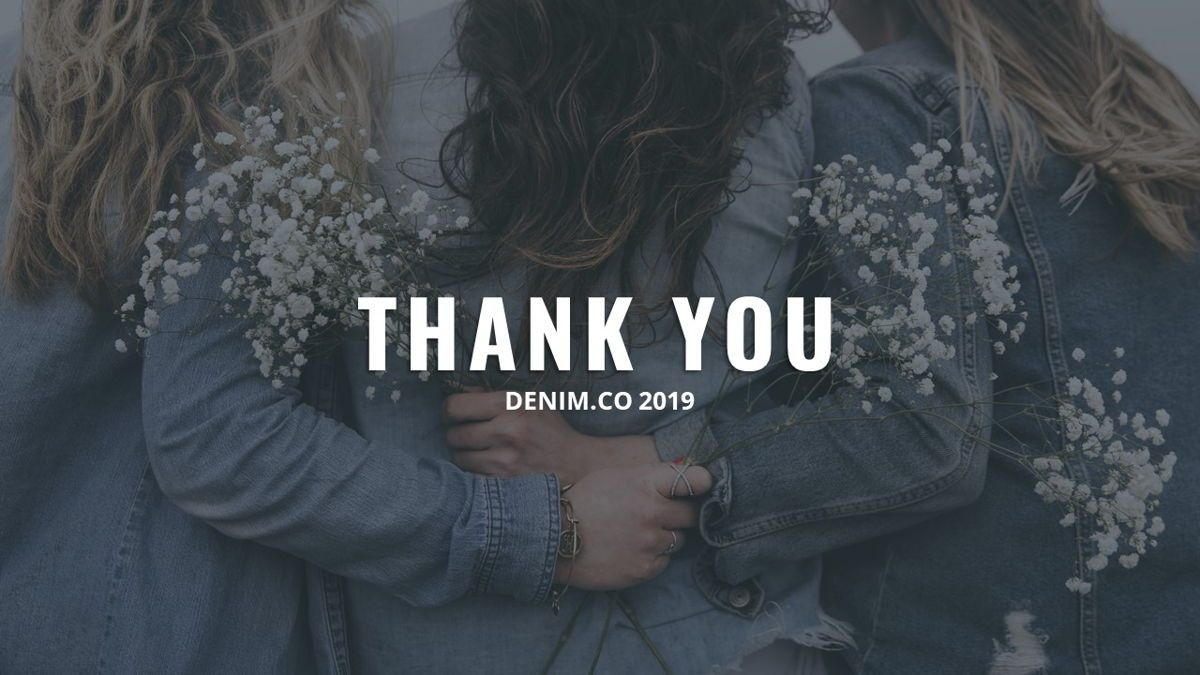 Denim - Fashion Powerpoint Template, Slide 31, 06095, Data Driven Diagrams and Charts — PoweredTemplate.com