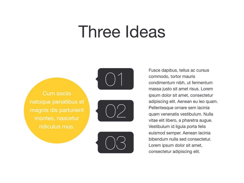 Trend Keynote Template, Slide 13, 06097, Presentation Templates — PoweredTemplate.com