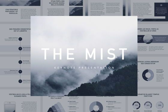 Presentation Templates: The Mist Keynote Template #06099