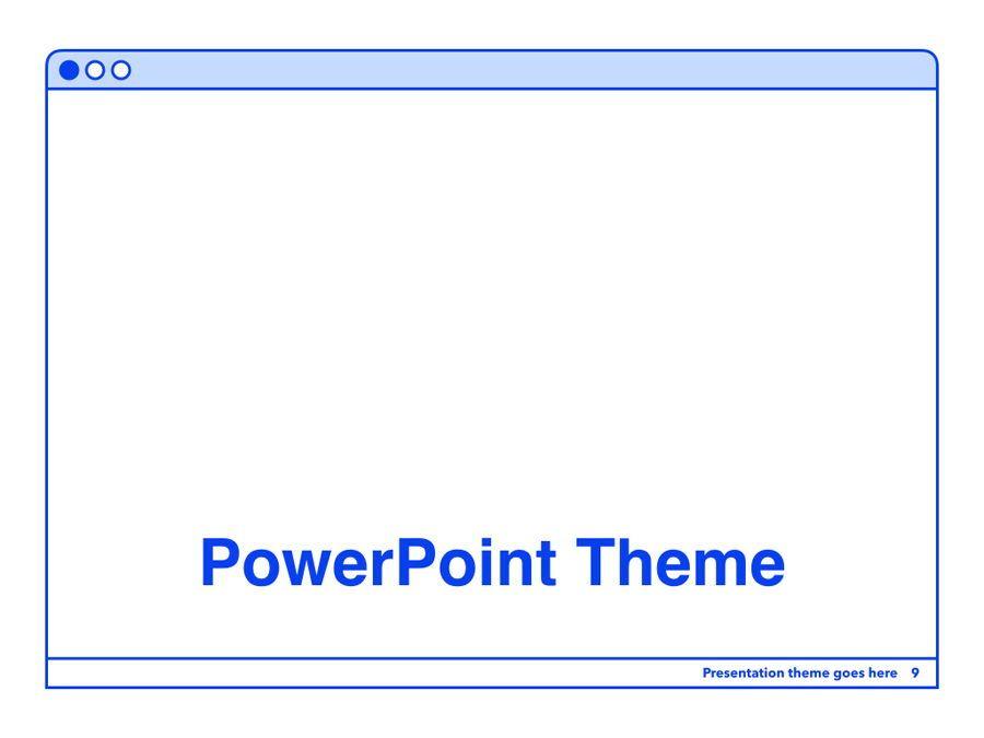 Social Media Guide PowerPoint Template, Slide 10, 06100, Presentation Templates — PoweredTemplate.com