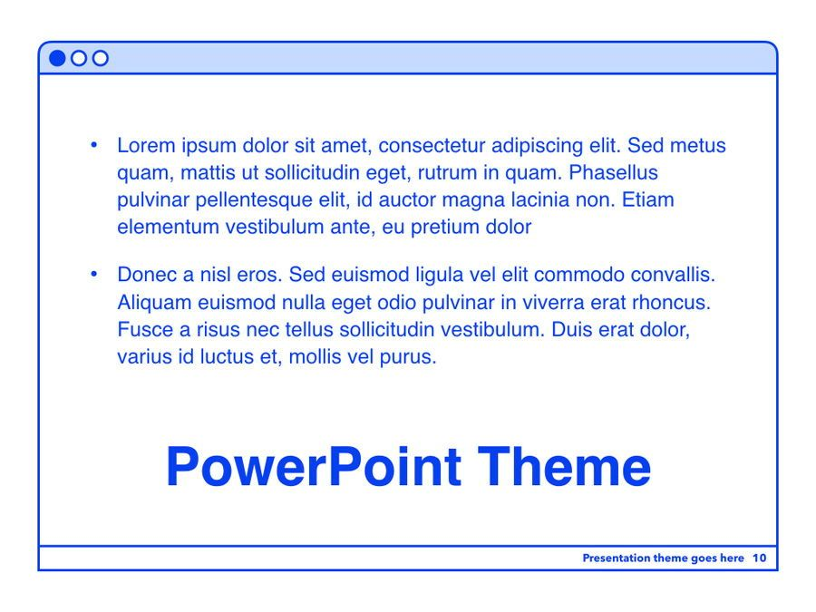 Social Media Guide PowerPoint Template, Slide 11, 06100, Presentation Templates — PoweredTemplate.com