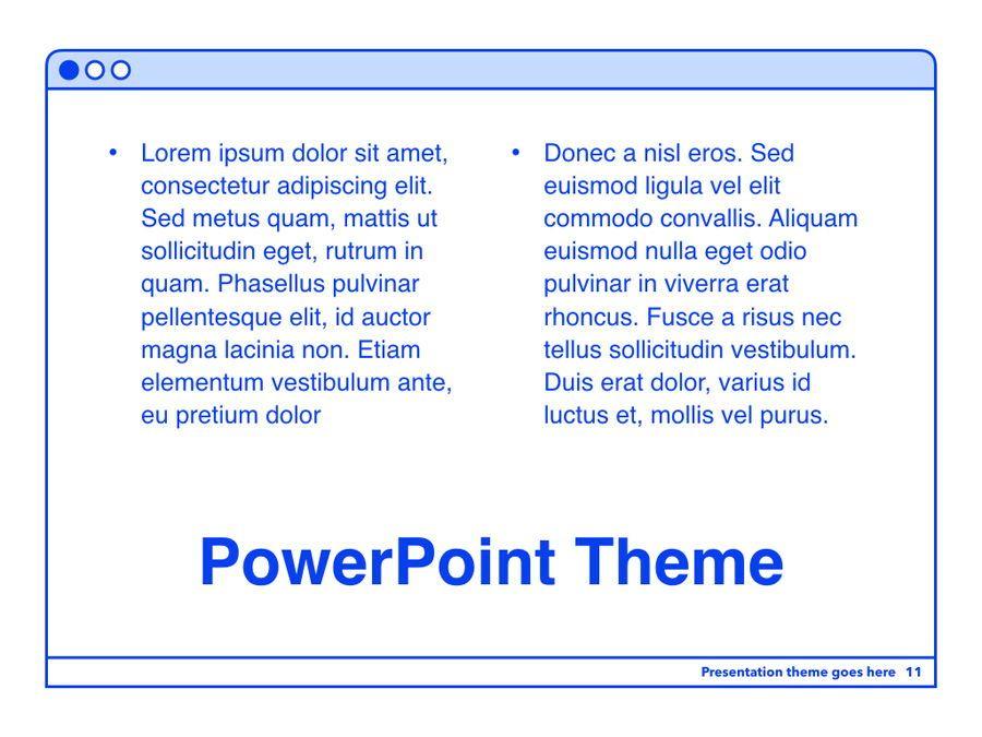 Social Media Guide PowerPoint Template, Slide 12, 06100, Presentation Templates — PoweredTemplate.com