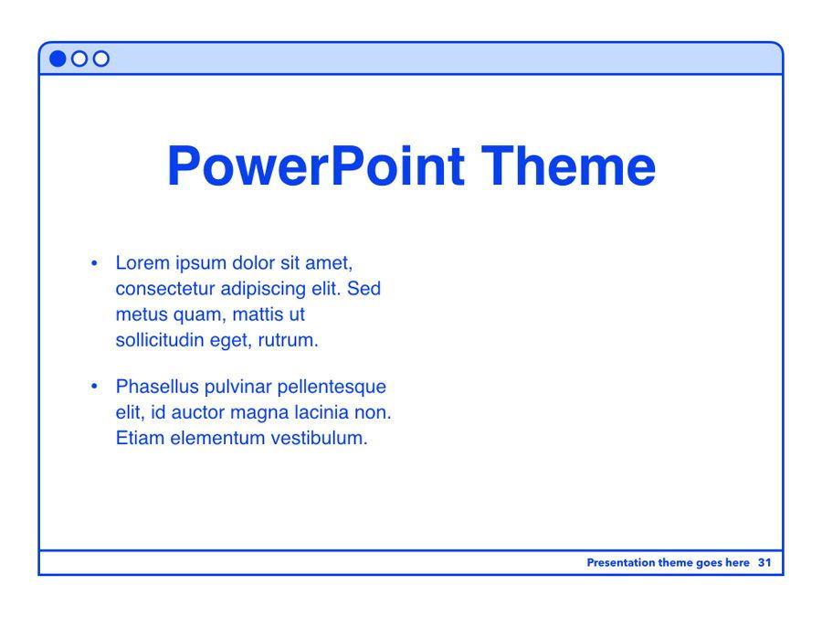 Social Media Guide PowerPoint Template, Slide 32, 06100, Presentation Templates — PoweredTemplate.com