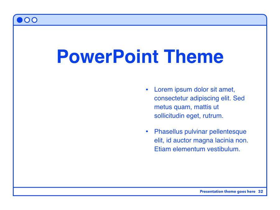 Social Media Guide PowerPoint Template, Slide 33, 06100, Presentation Templates — PoweredTemplate.com