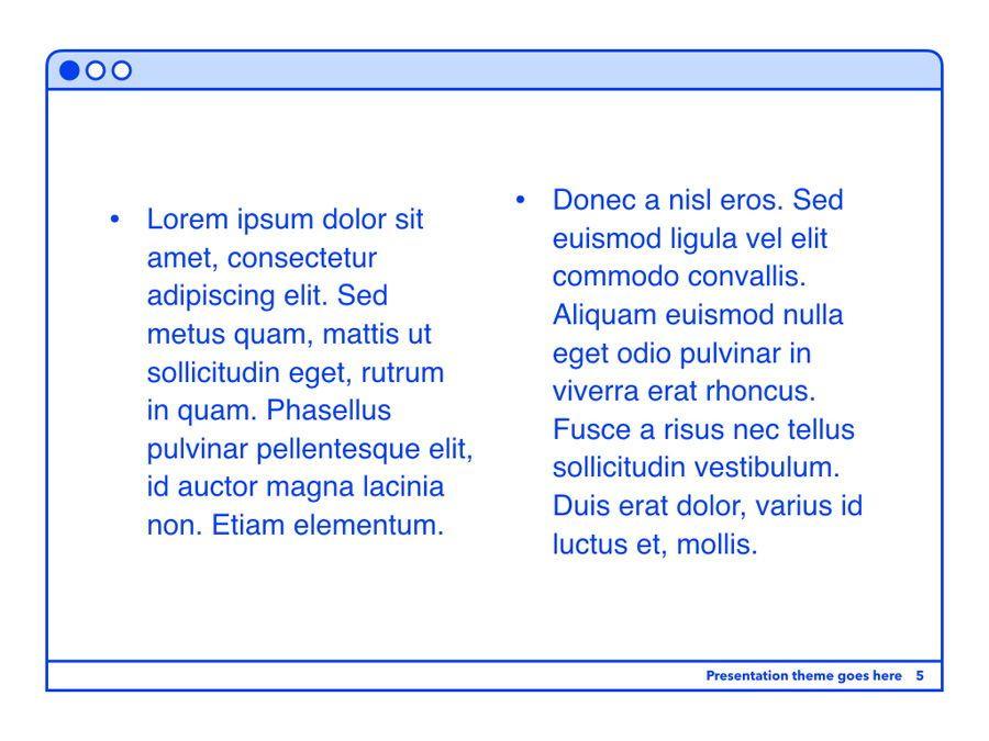 Social Media Guide PowerPoint Template, Slide 6, 06100, Presentation Templates — PoweredTemplate.com