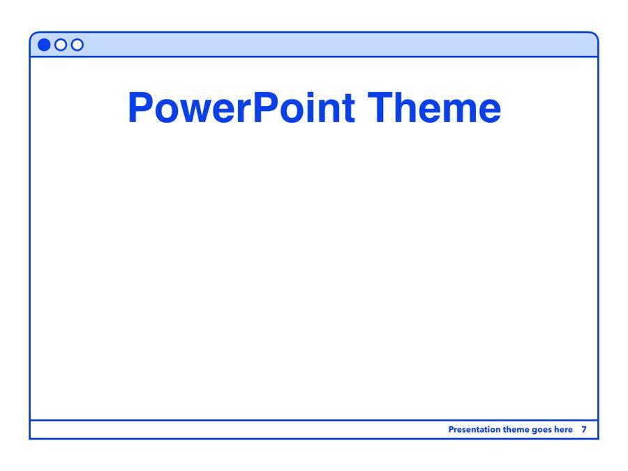 Social Media Guide PowerPoint Template, Slide 8, 06100, Presentation Templates — PoweredTemplate.com