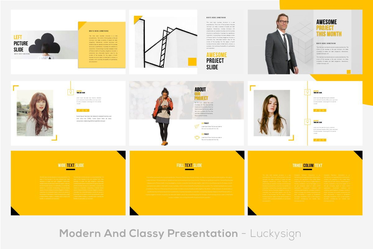 Yourbae Business Googleslide Template, Slide 4, 06102, Presentation Templates — PoweredTemplate.com