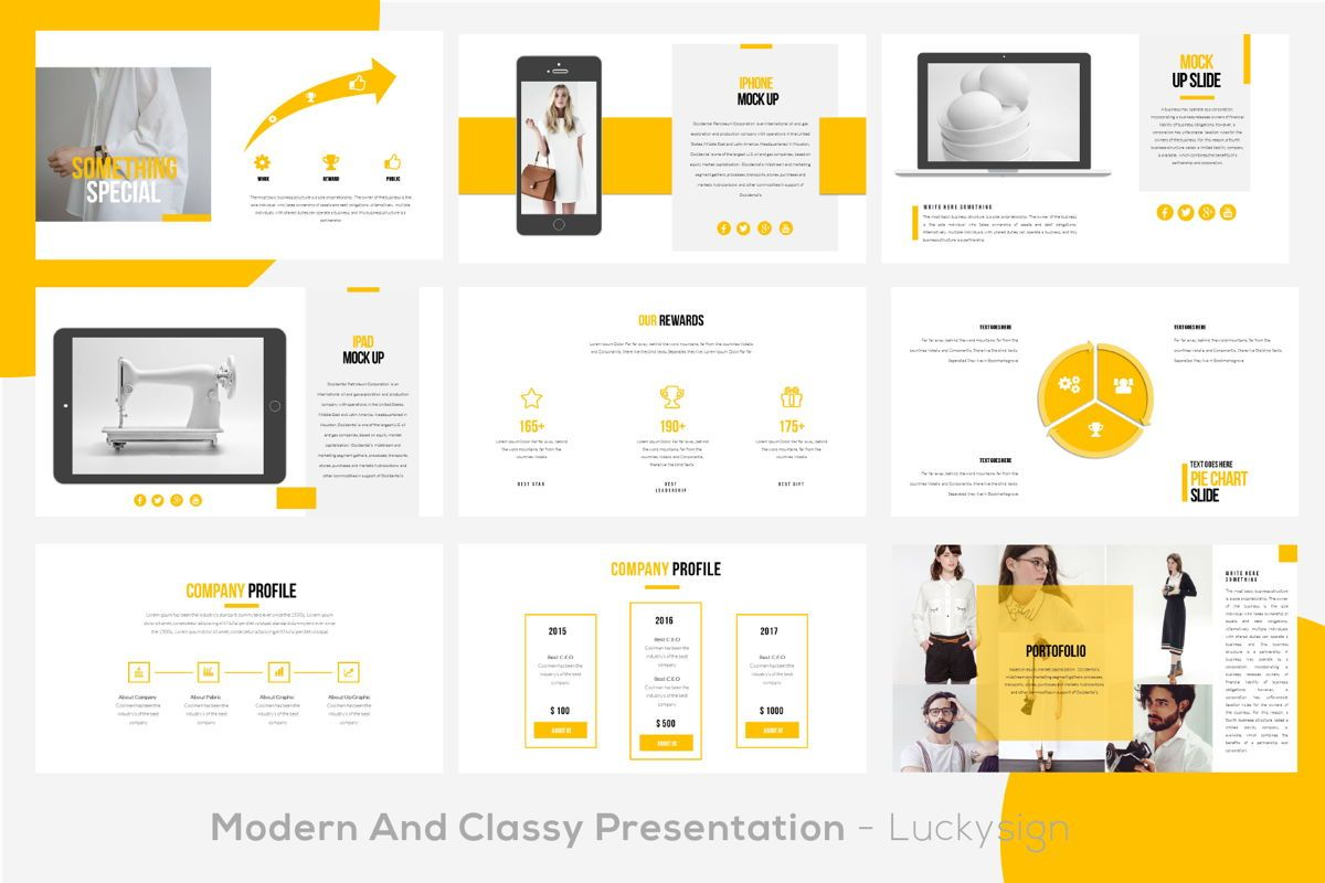 Yourbae Business Googleslide Template, Slide 5, 06102, Presentation Templates — PoweredTemplate.com