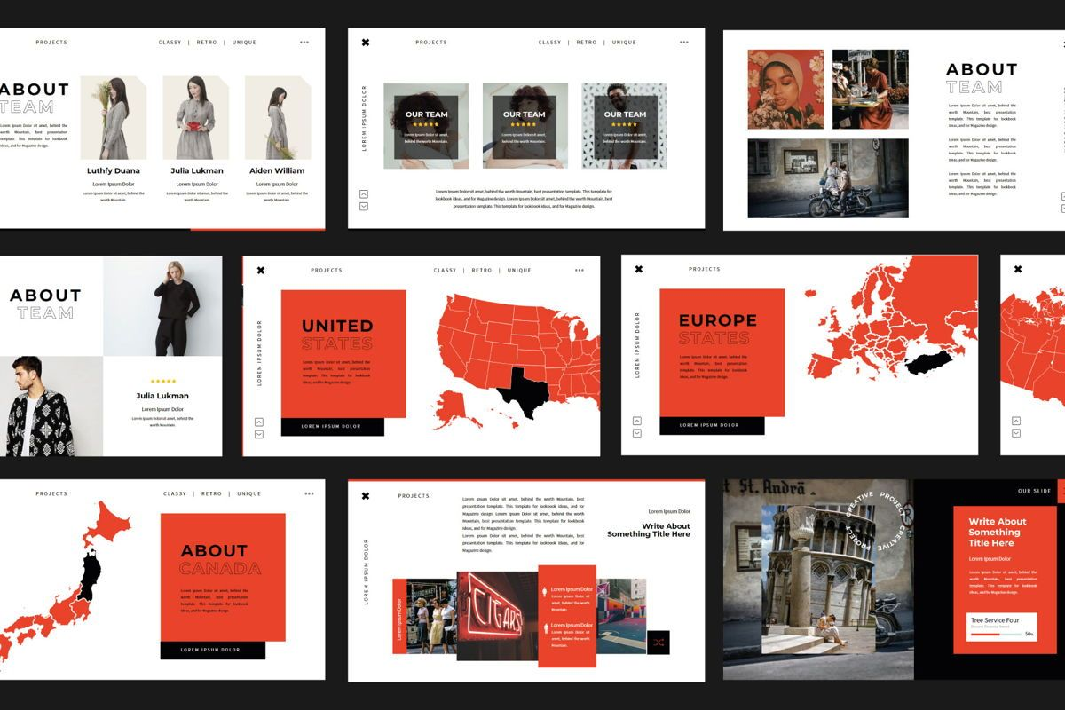 XGdragon Business Presentation Template, Slide 6, 06104, Presentation Templates — PoweredTemplate.com