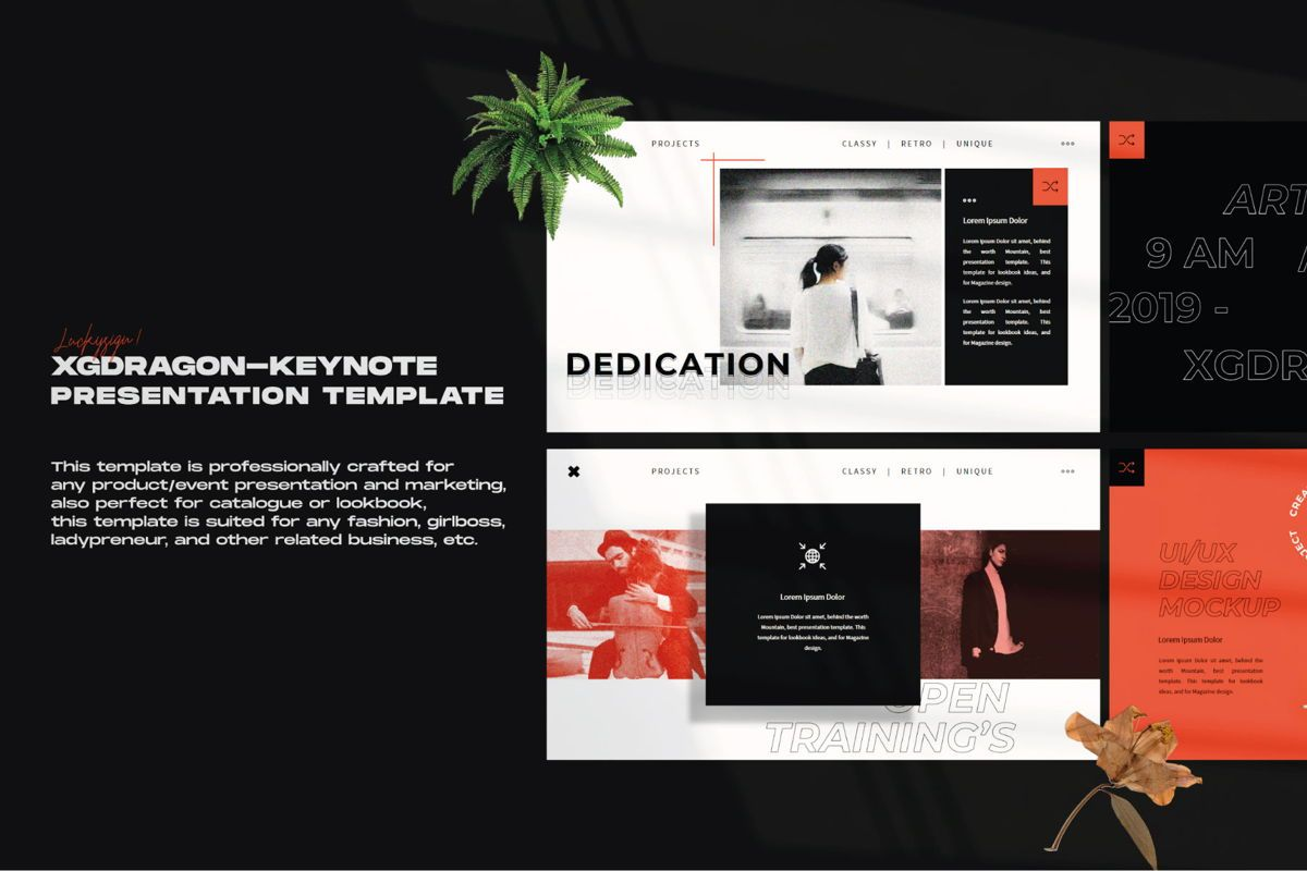 XGdragon Business Keynote Template, Slide 8, 06105, Presentation Templates — PoweredTemplate.com