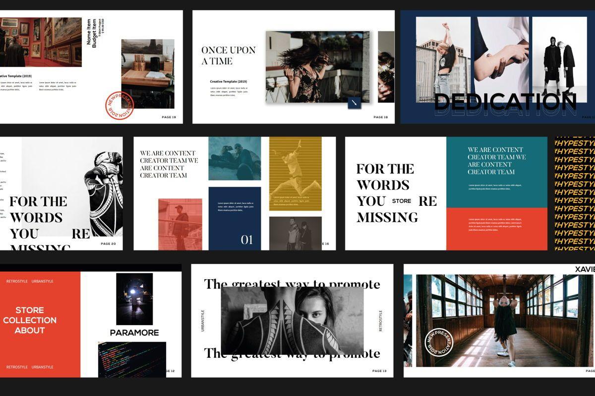 Xavier Business Keynote Template, Slide 5, 06108, Presentation Templates — PoweredTemplate.com