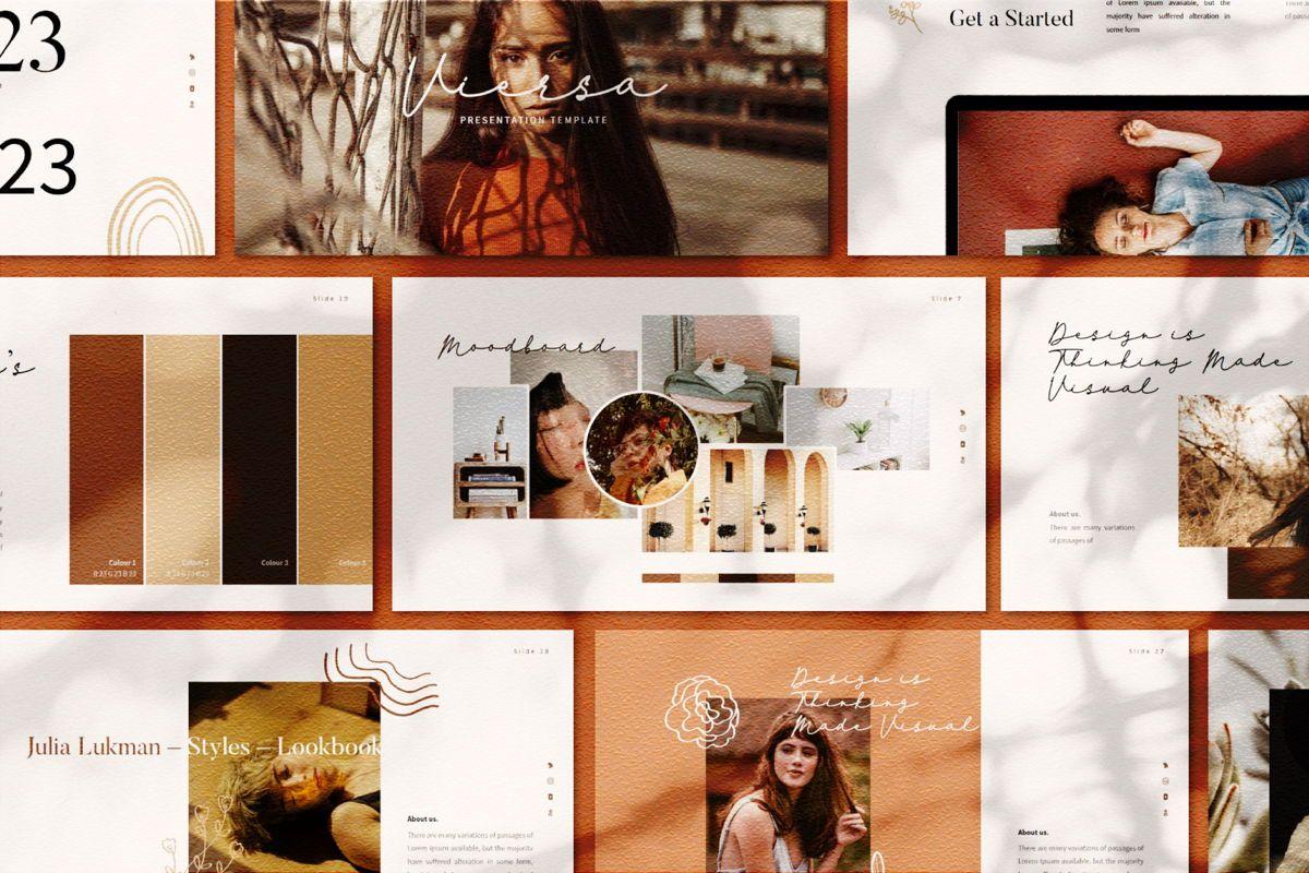 Viersa Business Keynote Template, Slide 3, 06110, Presentation Templates — PoweredTemplate.com