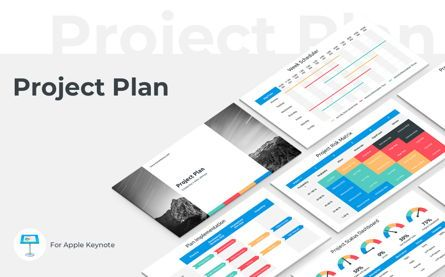 Business Models: Project Plan Keynote Presentation Template #06113