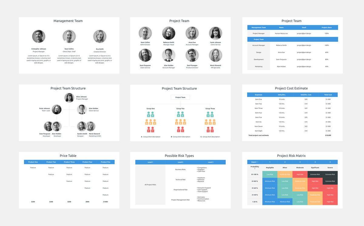 Project Plan Keynote Presentation Template, Slide 4, 06113, Business Models — PoweredTemplate.com