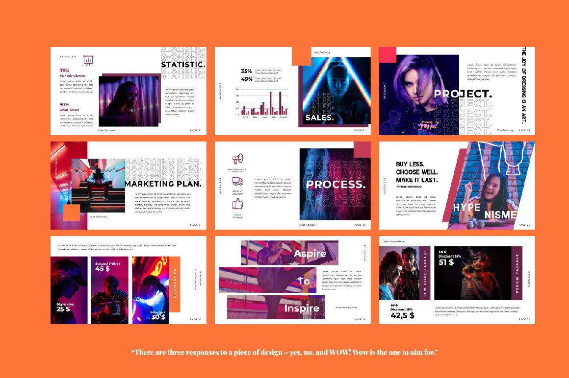 Hypenisme Brand Powerpoint, Slide 2, 06116, Presentation Templates — PoweredTemplate.com
