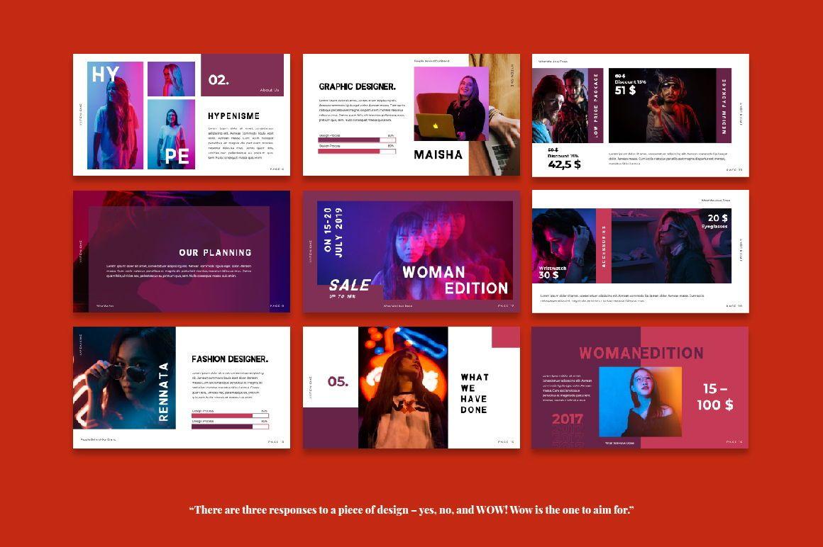 Hypenisme Brand Powerpoint, Slide 4, 06116, Presentation Templates — PoweredTemplate.com