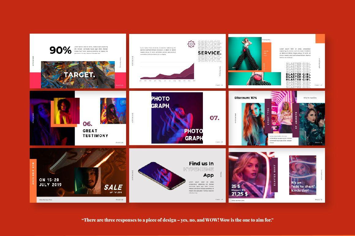 Hypenisme Brand Keynote, Slide 3, 06117, Presentation Templates — PoweredTemplate.com
