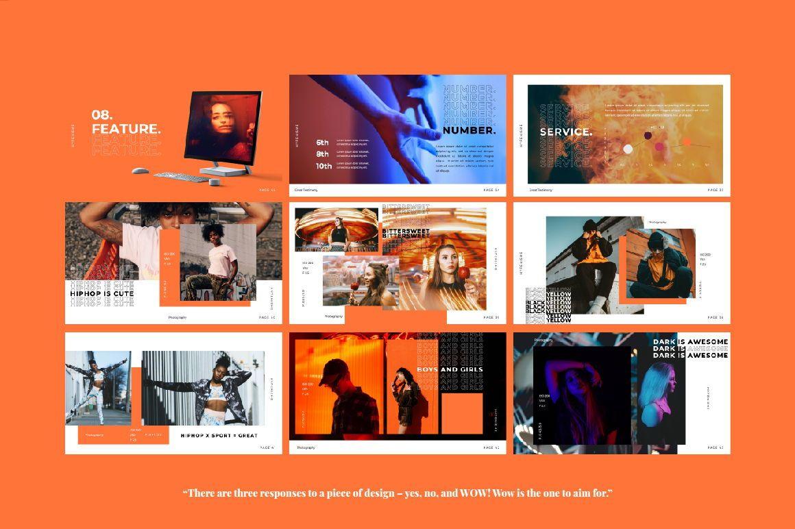 Hypenisme Brand Google Slide, Slide 5, 06118, Presentation Templates — PoweredTemplate.com