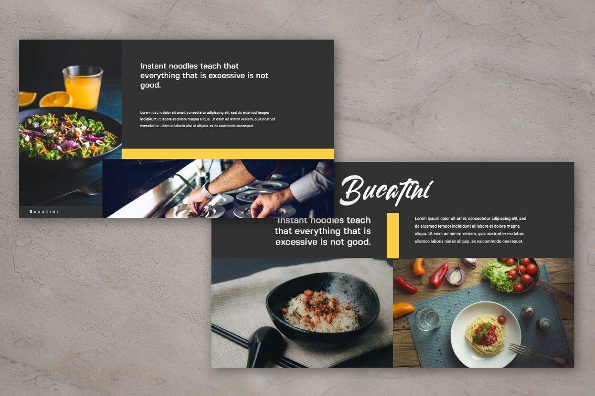 Bucatini Creative Google Slide, Slide 5, 06121, Presentation Templates — PoweredTemplate.com