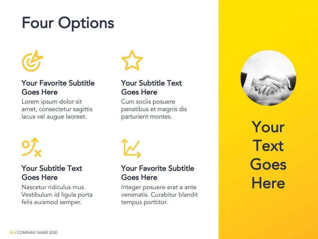 Yellow Concept Google Slides Template, Slide 11, 06122, Presentation Templates — PoweredTemplate.com