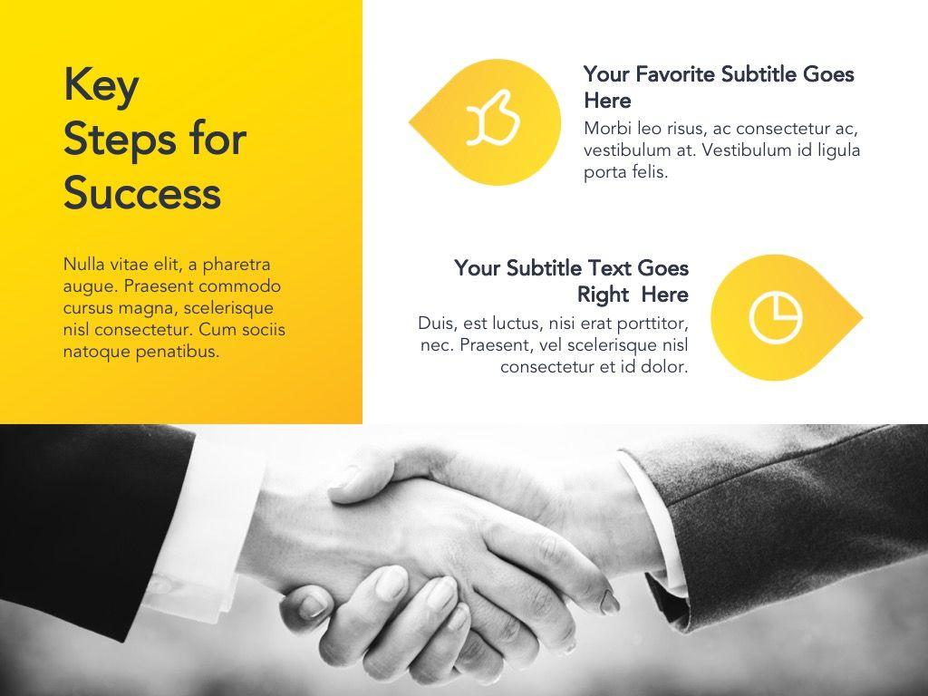Yellow Concept Google Slides Template, Slide 12, 06122, Presentation Templates — PoweredTemplate.com