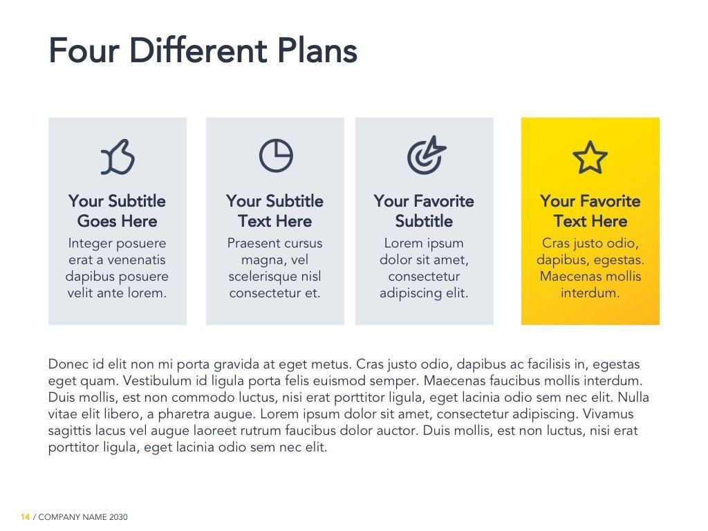 Yellow Concept Google Slides Template, Slide 15, 06122, Presentation Templates — PoweredTemplate.com