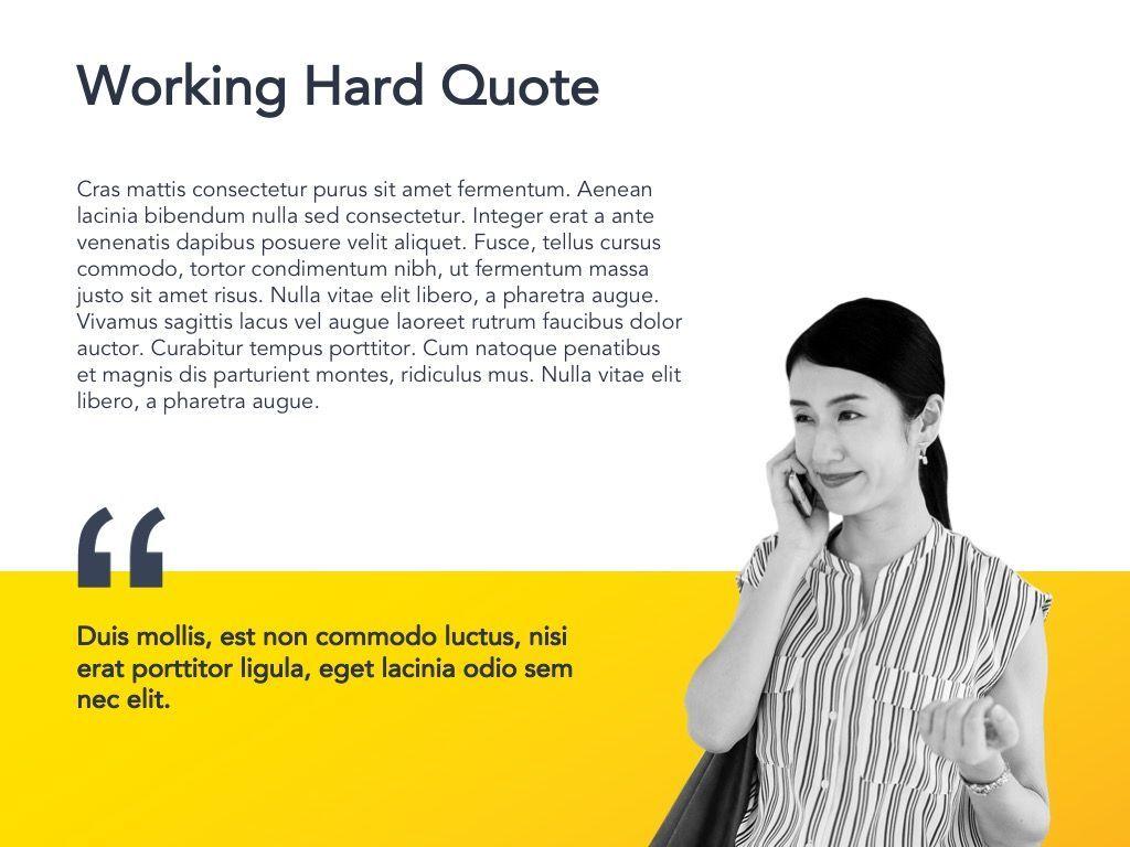 Yellow Concept Google Slides Template, Slide 19, 06122, Presentation Templates — PoweredTemplate.com