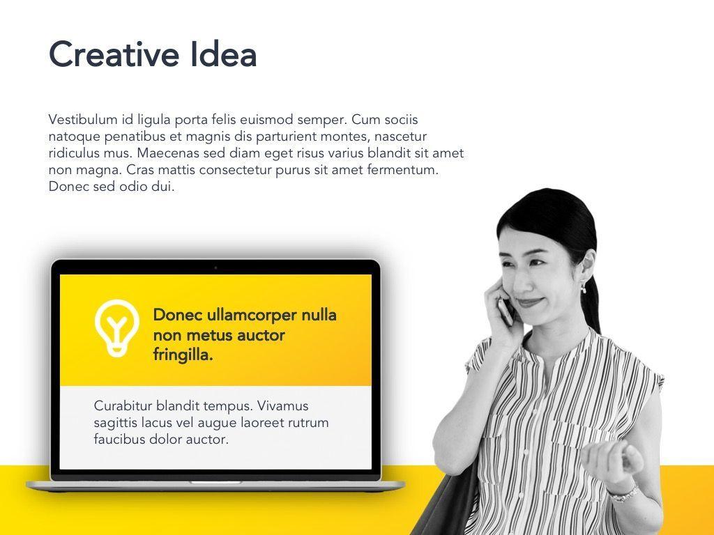 Yellow Concept Google Slides Template, Slide 20, 06122, Presentation Templates — PoweredTemplate.com