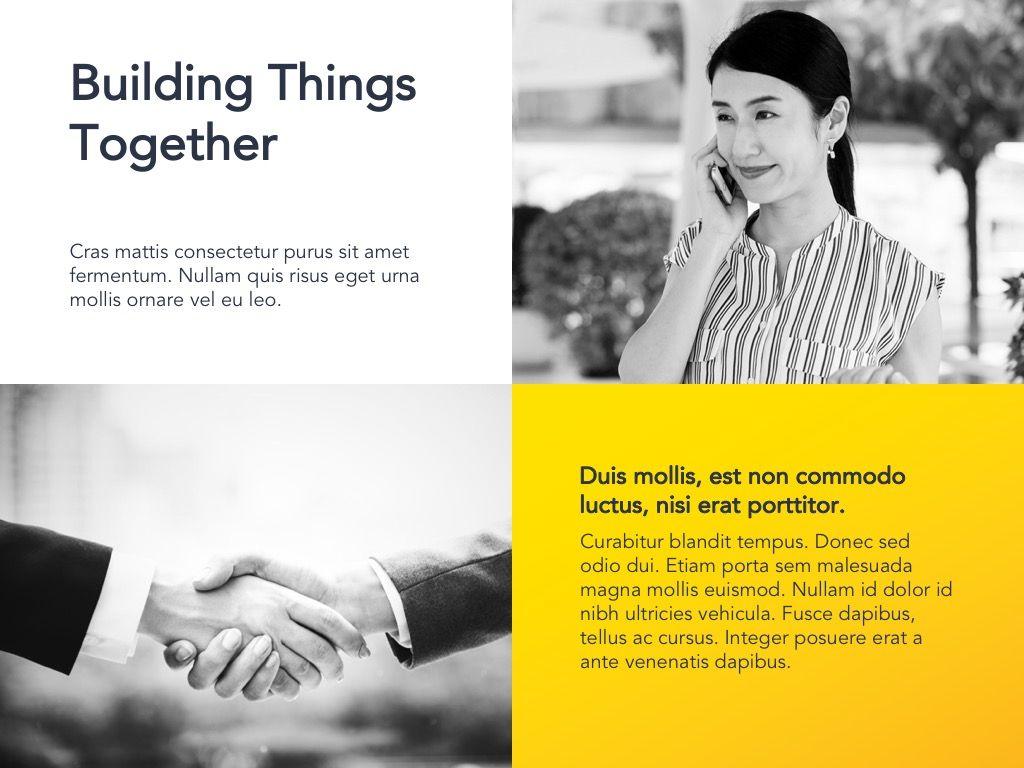 Yellow Concept Google Slides Template, Slide 8, 06122, Presentation Templates — PoweredTemplate.com