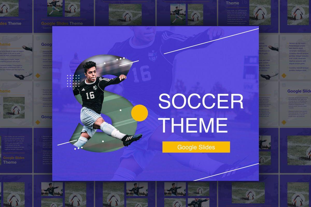Soccer Google Slides Theme, 06123, Presentation Templates — PoweredTemplate.com