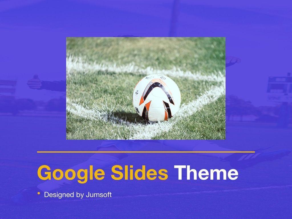 Soccer Google Slides Theme, Slide 10, 06123, Presentation Templates — PoweredTemplate.com