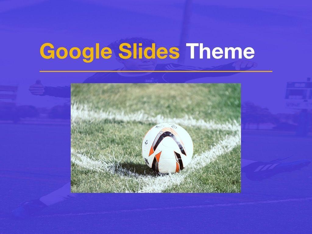 Soccer Google Slides Theme, Slide 12, 06123, Presentation Templates — PoweredTemplate.com
