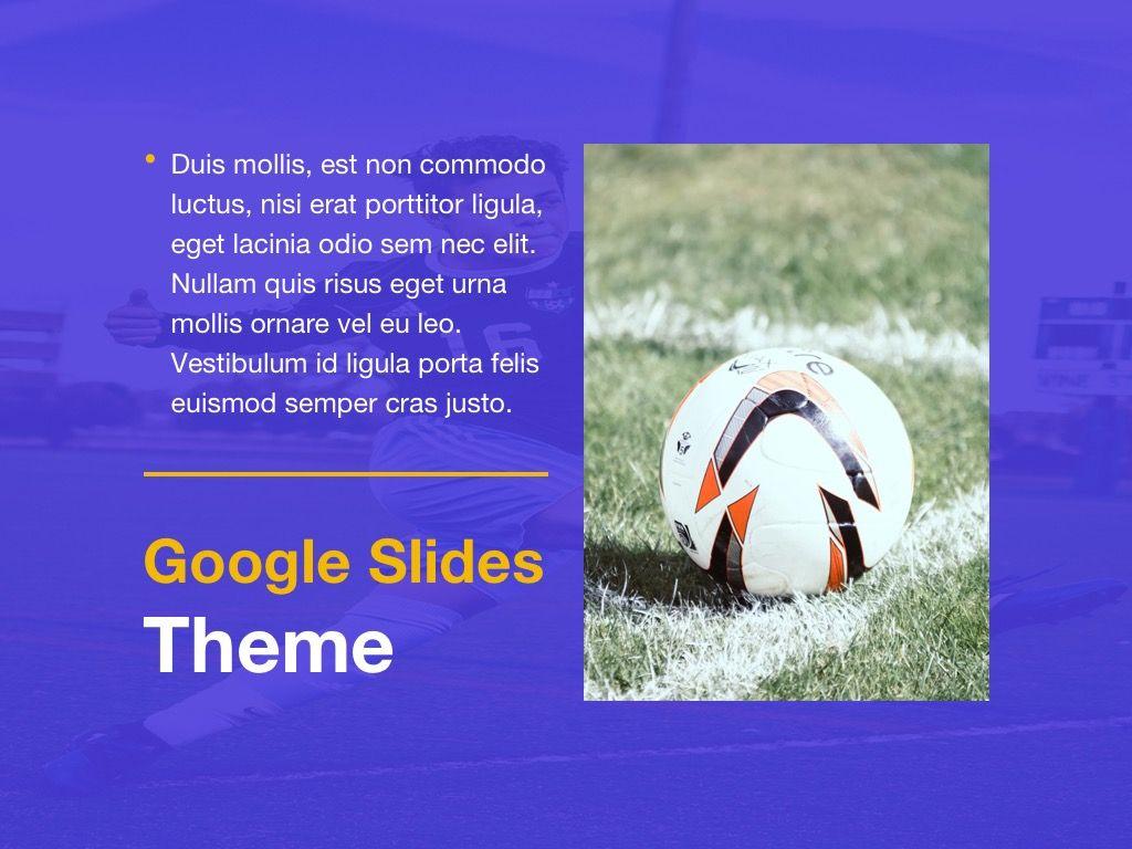 Soccer Google Slides Theme, Slide 16, 06123, Presentation Templates — PoweredTemplate.com
